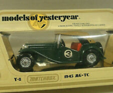Matchbox Models of Yesteryear 1945 MG-TC Y-8