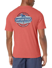 G.H. Bass & Co Men's Graphic Print T-Shirt  Baked Apple Heather Size Medium