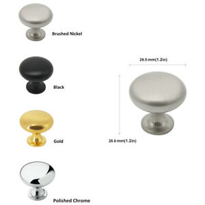 Cupboard Kitchen Cabinet Handle T Bar Pull & Wardrobe Door Handles Knob Mushroom