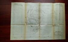 1919 Sketch Map Diagram Current Directions Vicinity of Horseshoe Falls Niagara