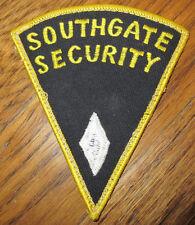 Southgate Security  Vintage Uniform Patch