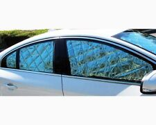 Lincoln MKS MK-S 8PC Custom Fit Windows Sunshades Windshield + Sides +Rear 055