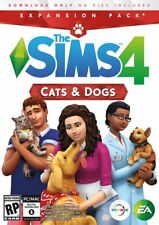 Sims 4: Cats & Dogs ORIGIN CODE -PC  (Windows/Mac)