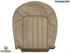 2002-2005 Mercury Mountaineer -Passenger Side Bottom Leather Seat Cover Tan