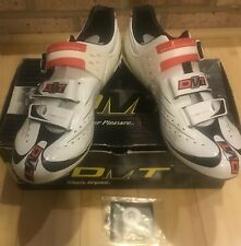 DMT Flash Carbon Fiber Cycling Road Bike Shoes – White NEW IN BOX Size 45