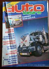 AUTO LOISIRS n°50 du 5/1983; Stock-Cars US/ Corvette/ Cabriolet US Ford-Mercury
