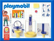 PLAYMOBIL 3969 BATHROOM MODERN HOUSE SHOWER - NEW - SEALED IN BAGS (NO BOX)