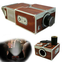DIY Cardboard Movie Projector Portable Cinema For Android Smartphone i Phone Hot