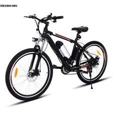 "26"" 21 Gang Shimano MountainBike Fahrrad Scheibenbremsen E-Bike Elektro Fahrrad"