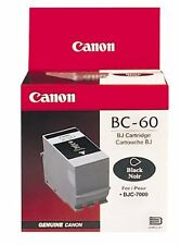 Canon Genuine/Original Ink Cartridge BC60/BC-60 clearance sale!