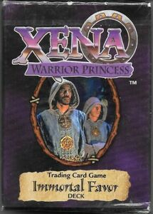 Xena Warrior Princess Trading Card Game Immortal Favor Expansion Deck 1998 NEW