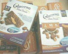 GLUCERNA BAR CHOCOLATE CARAMEL 60 MINI TREATS Bars BBD 7/20 Free Shipping USA
