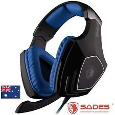 SADES SA-910 Gaming Headset Headphone Virtual 7.1CH 113dB USB Connection
