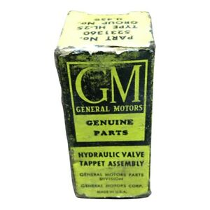 NOS General Motors Hydraulic Valve Tappet Assembly  5231360