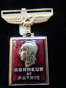 A11S) Médaille de l'aéronautique 1945 aviation pilote n°1 French MEDAL
