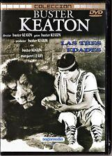 Buster Keaton: LAS TRES EDADES, EL MODERNO SHERLOCK HOLMES y EL POLO NORTE.