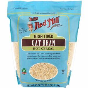 High Fiber Oat Bran Hot Cereal, 40 oz (1.13 kg)