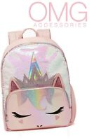 OMG! Miss GWEN Ombre Sequin Glitter UNICORN MERMAID Large School Bag Backpack