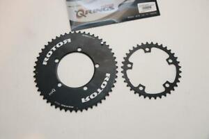 Rotor NoQ Aero 52/36T Road Bike Chainrings 110mm BCD 5-Bolt 10/11 S Outer Inner