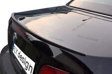 BMW E30 3er tuning spoiler CARBON look heckspoiler SLIM lippe klappe abrisskante