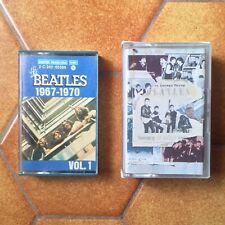 The Beatles cassettes tape Anthology 1 + 1967-1970 K7