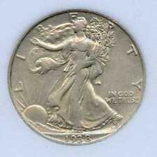 1938-D 50C Walking Liberty Silver Half Dollar. Almost Uncirculated. Lot #2574