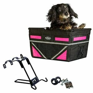 2020 Original Pet-Pilot Dog Bike Basket Carrier - 8 Color Options