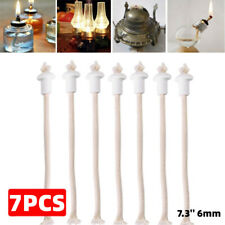 7 Ceramic Holders for Tiki Torch Wine Bottle Oil Lamp Cotton Kerosene Wick