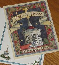Susan Winget Art - Peace At Mount Vernon - 1989 Lang Christmas Cards 4ct