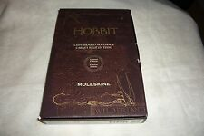 HTF Moleskine The Hobbit Limited Edition Clothbound Notebook W/Map UNUSED