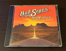"""BOB SEGER """"RIDE OUT"""" DELUXE EDITION RARE ORIGINAL 2014 USA CD ALBUM"""
