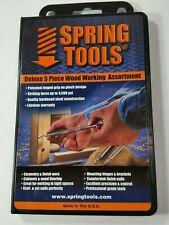 SpringTools Wwa1105 5 Piece Woodworking Set
