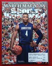 2008 NCAA MARCH MADNESS UCONN HUSKIES JEFF ADRIEN Sports Illustrated