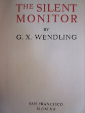 "1912""The Silent Monitor"" by G.Wendling Limited Edition &SIGNED 14 rare Photos"