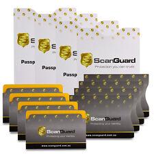 ScanGuard RFID Blocking Sleeves - Ultimate Protection Pack