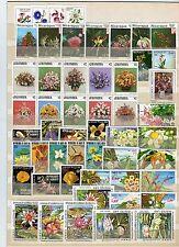 Lot Blumenmotive **    - KW 62,-- €  ( 31228 )