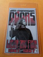 Jim Morrison Doors Light My Fire Commemorative Laminated Collectors Pass
