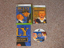 Bully: Scholarship Edition Xbox 360 Complete with Poster