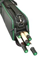 New McDermott 4x7 Hybrid Pool Cue Case, IN STOCK READY TO SHIP, Hard/Soft Case