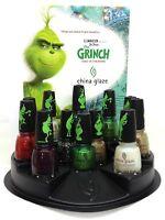China Glaze Nail Polish  - The Grinch Winter 2018 Collection full size -Pick Any
