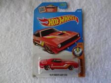 2016 Hot Wheels Muscle Mania '70 Plymouth AAR Cuda Reddish Orange