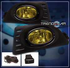 2005 2006 2007 ACURA RSX COUPE 2DR JDM BUMPER DRIVING YELLOW FOG LIGHTS+HARNESS