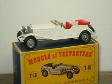 1928 Mercedes 36/220 - Matchbox Models of Yesteryear Y-10 England in Box *39818