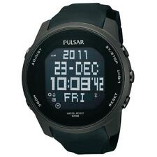 Pulsar Mens Digital World Time Watch PQ2011X1