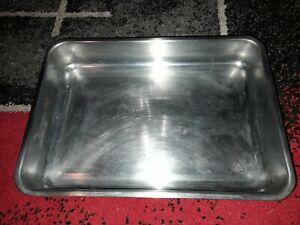 Ikea Stainless steel Oven Roasting Pan Dish tin 34cm x 24cm