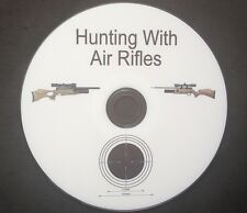 HUNTING WITH AIR RIFLES FULLY PRINTED DVD THEOBEN AIR ARMS DAYSTATE