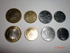 "- INDIA - 4  NEW  COINS - RS.10, 5, 2, 1 - 2011(WITH "" R "" SYMBOL) # 5Ci"