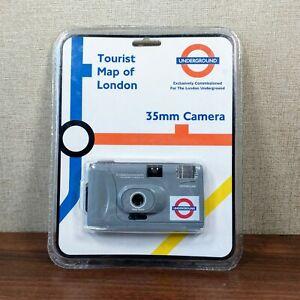 London Underground Souvenir 35mm Film Camera Tourist Map Collectable Vintage