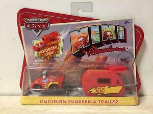 Disney CARS 1 MINI ADVENTURES Motorized LIGHTNING McQUEEN