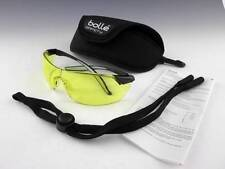 BOLLE Mamba Yellow Lens Shooting Sports Safety Work UV Sunglasses + Hard Case